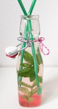 Der Rhabarber-Vanille-Sirup ist eine tolle Möglichkeit den saisonale Rhabarber für das ganze Jahr zu konservieren! So schmeckt er uns allen.