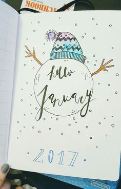 January monthly header