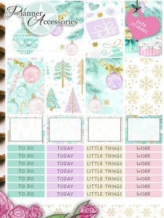 5ea25a53712b Happy Planner Weekly Kit Stickers Cliparts for this set you can find it  here  https