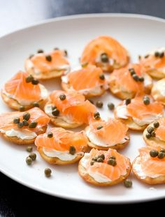 I'm channeling my inner orca whale. Really into salmon right now! Homemade Gravlax via Love and Olive Oil