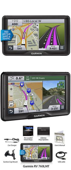 GPS Units: Garmin Rv 760Lmt Rv Gps ,Travel Planner W Lifetime Traffic Updates Brand New -> BUY IT NOW ONLY: $599.99 on eBay!