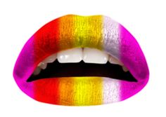 SHARE THIS to get 10% off your order at http://violentlips.com The Warm Rainbow | Violent Lips