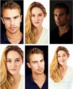 Divergent theo and Shailene Tris Et Tobias, Divergent Theo James, Divergent Trilogy, Divergent Insurgent Allegiant, Veronica Roth Quotes, Veronica Roth Books, Allegiant Veronica Roth, Tris Et Quatre, Divergent Characters