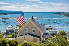 "We asked our readers ""What are Maine's prettiest villages?"" Here are the results. Photographs by Susan Cole Kelly o doubt you've had plenty of. Maine New England, New England States, New England Travel, Vacation Places, Dream Vacations, Vacation Spots, Places To Travel, Greece Vacation, Travel Destinations"