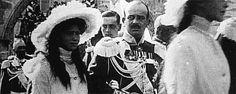 """"""" Olga, Tatiana, Maria and Anastasia Nikolaevna at The Parade in 1912. """""""