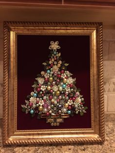 Jewlery Christmas tree. Made by B. Turchi 2014