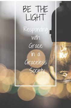 Encouragement for shining your light in hopeless times.