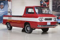 "Chevy Corvair ""rampside"" -- got one of these waiting to be spruced up Chevrolet Trucks, Cool Trucks, Chevy Trucks, Pickup Trucks, Mini Trucks, Chevy Pickups, General Motors, Classic Trucks, Classic Cars"