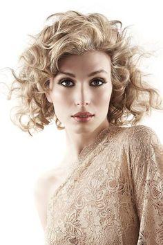 Luscious Messy Curls