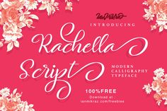 Rachella Script Free Font |  Personal & Commercial Use