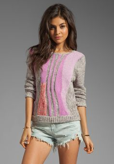 Flo Sweater in Cherry Blossom Multi - Lyst