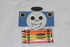 Train Birthday || Thomas || Chuggington || crayon favors for loot bags || party favors