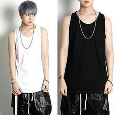 Buy 'Rememberclick – Long Sleeveless Top' with Free International Shipping at YesStyle.com. Browse and shop for thousands of Asian fashion items from South Korea and more!