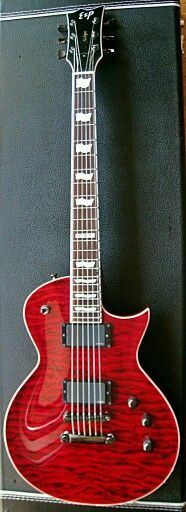 ESP Eclipse Custom See Thru Black Cherry