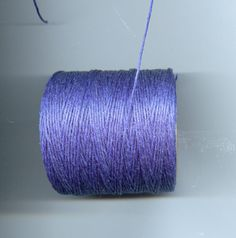 Royal Blue Waxed Cord Thread 5 yards by sissiessupplies on Etsy, $1.25