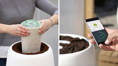 Plant a Tree In Your Loved One's Ashes by Using Smart Technology. Bios Incube - Bios Urn is a smart urn that transforms your loved one's ashes into a tree. By Using, Smart Technologies, Urn, Trees To Plant, Pop Culture, First Love, Technology, Plants, Image