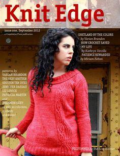 Knit Edge Magazine Issue 1 2012 - 轻描淡写 - 轻描淡写
