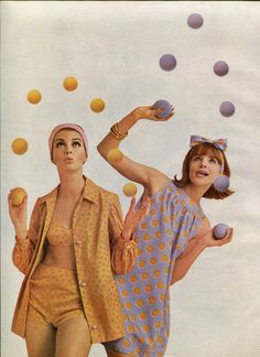 Juggling Act | McCalls, 1964 #vintage #fashion #1960s