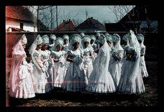 MAtyo MAry girls/From Mezőkövesd/Erdődi Mihály/1940Néprajzi Múzeum   Online Gyűjtemények - Etnológiai Archívum, Diapozitív-gyűjtemény