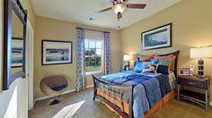 70 model home bedroom