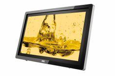 Fantechnology: AOC presenta il monitor con tecnologia  multitouch...