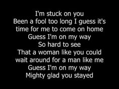 Lionel Richie - Stuck On You (with lyrics)