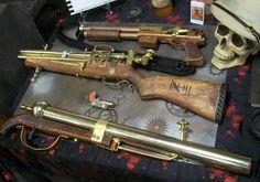 steampunk guns from DragonCon 2011
