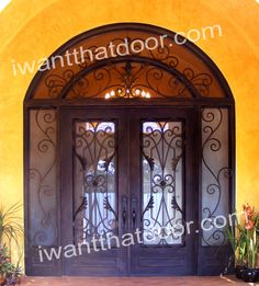 Iron Doors National Ad Campaign by Universal Iron Doors is Seeing Positive Results Despite the Low in The Economy Iron Doors, Double Doors, Windows, Mirror, Campaign, House, Home Decor, Style, Swag