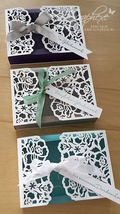 Floral greetings, Box, Tutorial, Stampin 'Up !, scraphexe.de