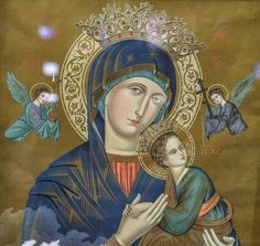 Our Lady of Perpetual Help came to the divine assistance when called upon through the Memorare a prayer with grace unceasing behind These Stone Walls.