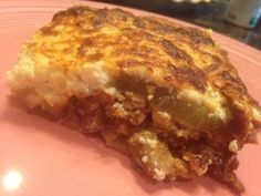"MOUSSAKA * Greek ""lasagna"" using eggplant slices instead of pasta * ground lamb or lean beef * Homemade WHITE SAUCE and Optional Homemade TOMATO SAUCE ** parsley, oregano, garlic, onions and a hint of nutmeg * PARMESAN CHEESE * Fantastic family casserole ~ perfect with Greek Salad or green salad w/Greek dressing **"