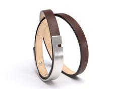 Bracelet Homme -U-TURN TWICE Choco