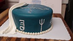 Percy Jackson cake I want and I want it now! Percy Jackson Cake, Percy Jackson Crafts, Percy Jackson Birthday, Percy Jackson Books, 28th Birthday, Birthday Cakes, Birthday Parties, Alex The Great, Fun Cakes