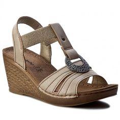 Sandále INBLU - OC027R10 Béžová
