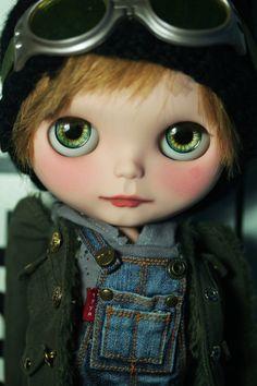 OOAK Custom Blythe Boy Doll by Little Miss no Name: Toño