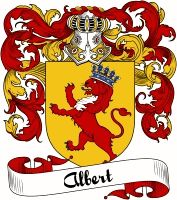 Albert Coat of Arms  Albert Family Crest   VIEW OUR FRENCH COAT OF ARMS / FRENCH FAMILY CREST PRODUCTS HERE
