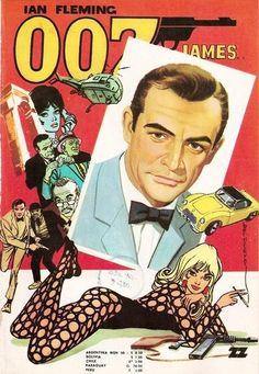 007 artwork: comic
