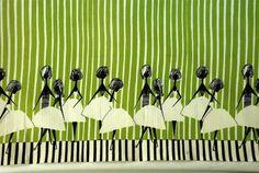 a fabric for a skirt by Alicja Wyszogrodzka