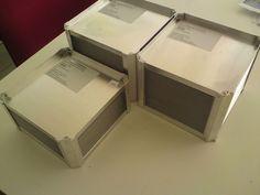 Heat Recovery 300x300mm Plate Heat Exchanger Air Heat Exchanger KWL WRG #HeatexSchweden