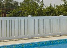 Shoreline's pool fence , making safe look so stylish!