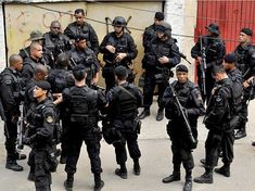 BOPE (Special Operations Police Battalion) - Brazilian SWAT group