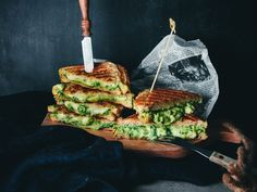 Grilled two cheese avocado and spinach sandwiches! What could behellip Cookery Books, My Cookbook, Everyday Food, Mozzarella, Avocado Toast, New Recipes, Spinach, Side Dishes, Sandwiches
