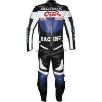 Honda CBR BLUE Motorbike Race Leathers