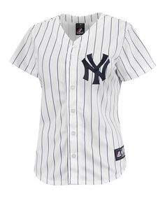 Loving this New York Yankees Replica Home Jersey - Plus on #zulily! #zulilyfinds