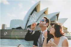 Bride and Groom Clare + Guillaume having some fun on Sydney Harbour near the Opera House on their wedding day Sydney Wedding, Wedding Day, Dance Poses, Pre Wedding Photoshoot, Fantasy Wedding, Destination Weddings, Weeding, Photo Credit, Opera House
