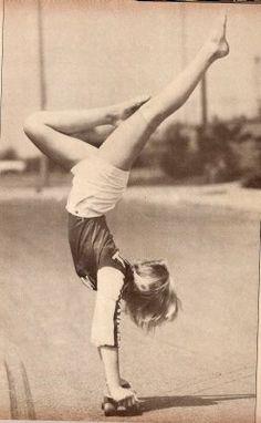 SKATE CURIOSIDADE » Skate Gymnastic style – 70s Helen O'Neal