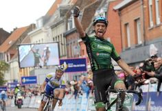 Bryan Coquard unleashes his inner Voeckler and wins the opening stage of the Four Days of Dunkirk