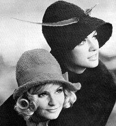 1972 Crochet Slouch Hats | Flickr - Photo Sharing!