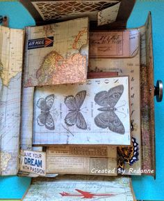 CC3C #23 is all about the Tim Holtz Collection Folio and you can see what Linda Ledbetter and the Curiosity Crew created HERE . There is ce...