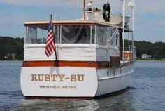 1947 Trumpy Mathis Trumpy Houseboat, New Rochelle, New York   boats.com